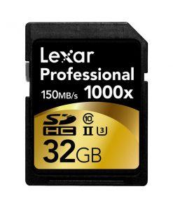 Lexar SDHC 32GB 1000X